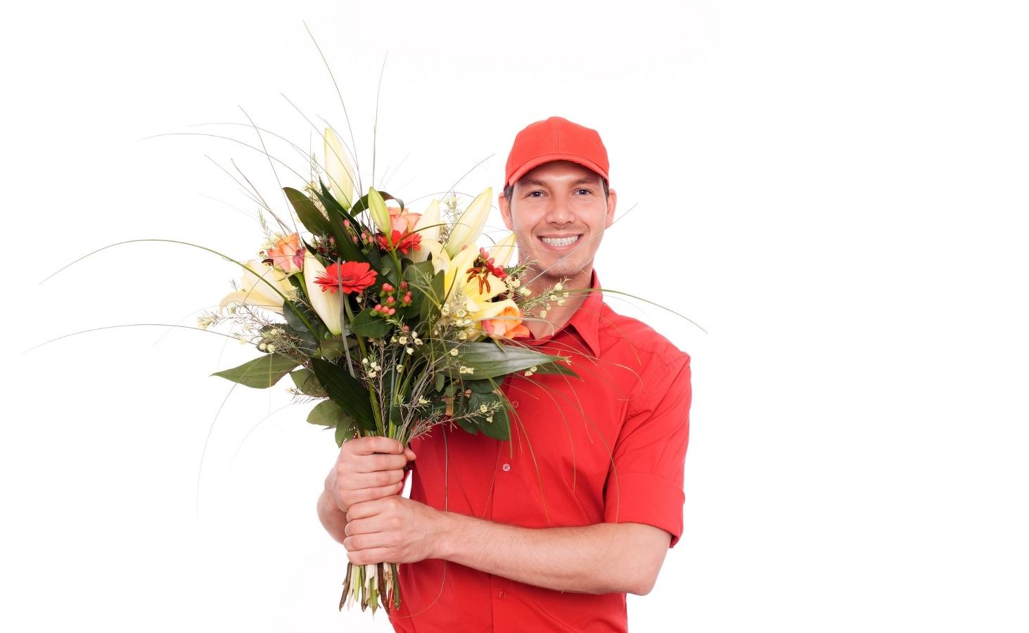 Курьер по доставке цветов вакансии