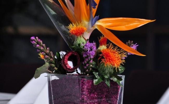 Hochzeit Blumenschmuck Tischschmuck3